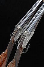 WILLIAM EVANS A PAIR OF 12-BORE SIDELOCK EJECTOR GUNS, NOS. 6375/6 28-inch