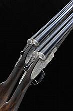 JOSEPH LANG & SON A PAIR OF 12-BORE SINGLE TRIGGER SIDELOCK EJECTOR GUNS, N