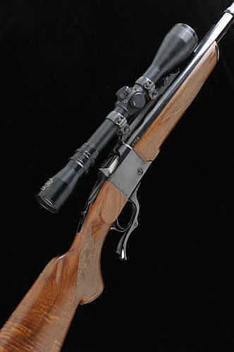 RUGER A  416 RIGBY NO 1 MODEL FALLING BLOCK RIFLE,