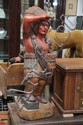 CARVED CIGAR STORE INDIAN.