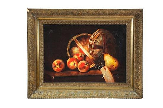 STILL LIFE (AMERICAN SCHOOL, 2ND HALF-19TH CENTURY).