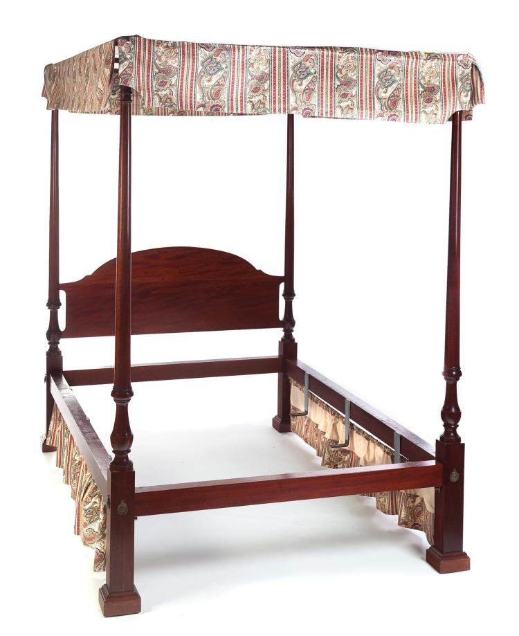 American federal poster bed with canopy for American home furniture beds