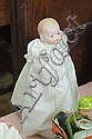 ARMAND MARSEILLE BABY PHYLLIS DOLL. Having a painted bisque head, composition hands, and a cloth body. Doll is marked