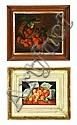 TWO FRUIT STILL LIFE PAINTINGS ( AMERICAN SCHOOL, 2ND HALF-19TH / 1ST HALF-20TH CENTURY).