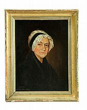 PORTRAIT OF DAISY HILLS (AMERICAN SCHOOL, LATE 18TH-EARLY 19TH CENTURY).