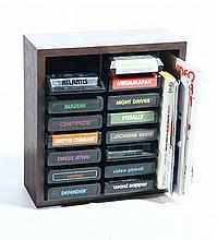 AN ASSORTMENT OF COMPUTER VIDEO GAMES.