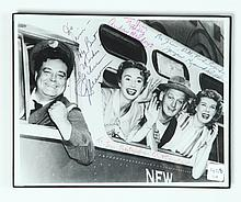 THE HONEYMOONERS AUTOGRAPHED PHOTO.
