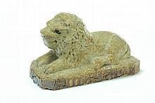 POTTERY LION.