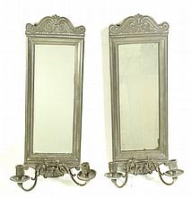 PAIR OF WALL SCONCES.