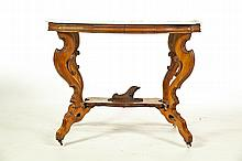 MARBLE TOP PARLOR TABLE.