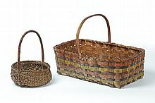 TWO BASKETS.