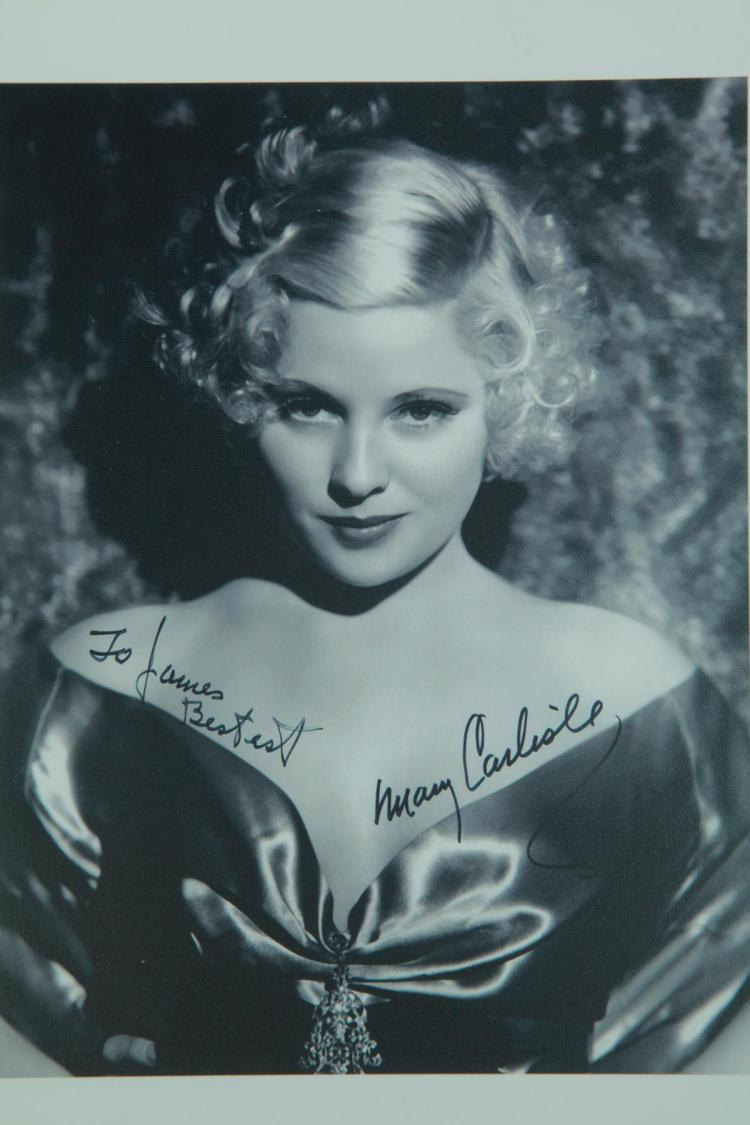 Collection Of Actress Autographs