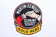 PAINT COMPANY ADVERTISING SIGN.