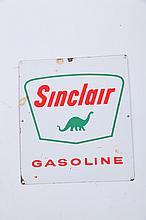 GASOLINE SERVICE STATION SIGN.