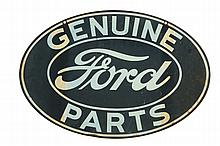 FORD AUTO PARTS ADVERTISING SIGN.