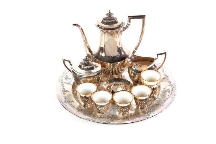 AMERICAN STERLING COFFEE SERVICE.