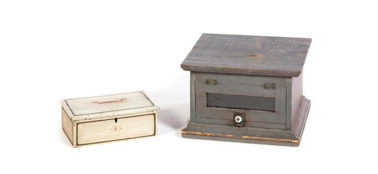 DOCUMENT BOX AND DISPLAY CASE.