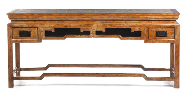 CHINESE-STYLE TABLE BY MAITLAND-SMITH.
