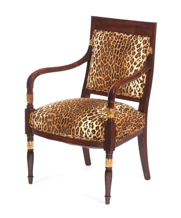 FRENCH-STYLE ARMCHAIR.