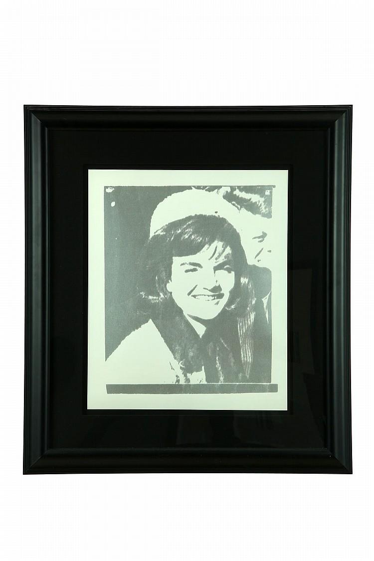 JACKIE I BY ANDY WARHOL (AMERICA, 1928-1987).