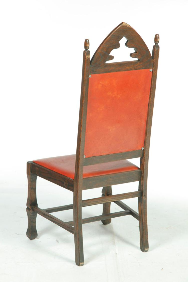 Assembled dining room set in the arts and crafts style - Arts and crafts dining room furniture ...