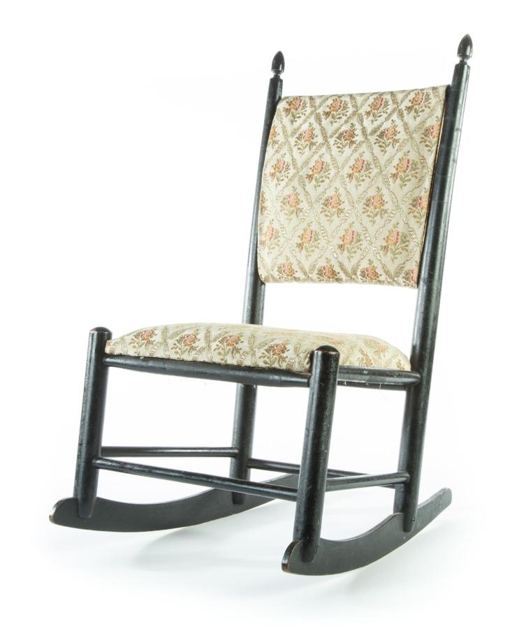 American shaker childs rocking chair for H furniture ww chair