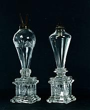 TWO OIL LAMPS.