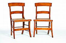 PAIR OF CLASSICAL CHAIRS.