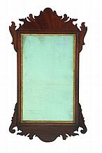 CHIPPENDALE MIRROR.