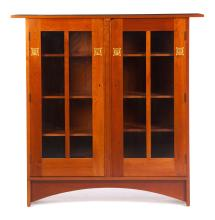 CONTEMPORARY STICKLEY ARTS & CRAFTS-STYLE BOOKCASE.