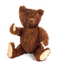 STUFFED TEDDY BEAR: POSSIBLY BING.