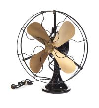 GENERAL ELECTRIC COMPANY TABLETOP OSCILLATING FAN.