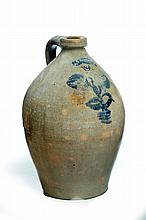 DECORATED STONEWARE JUG.