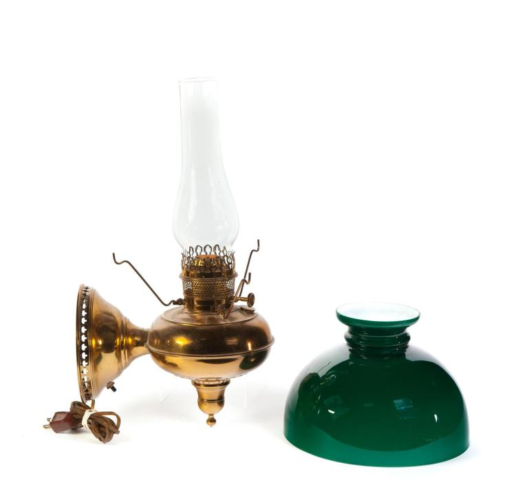 WALL HANGING OIL LAMP BY RAYO.