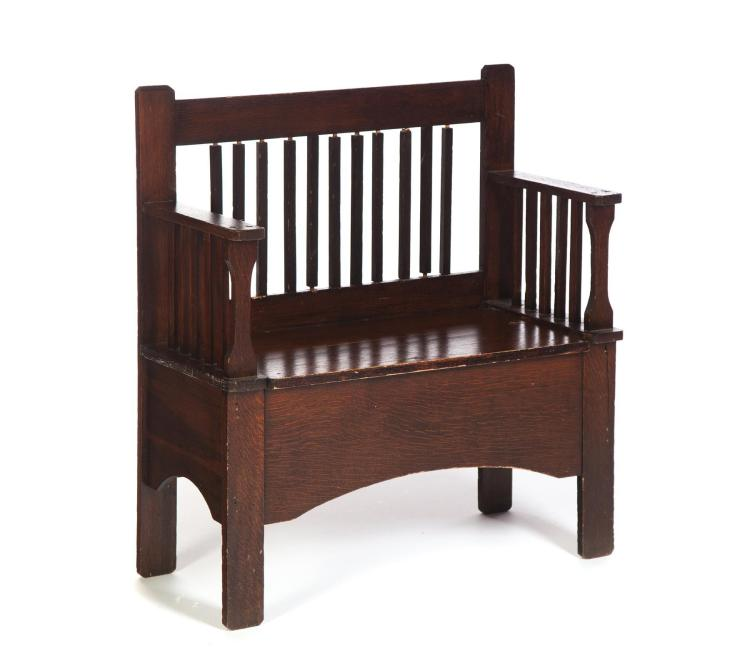 American Arts And Crafts Bench