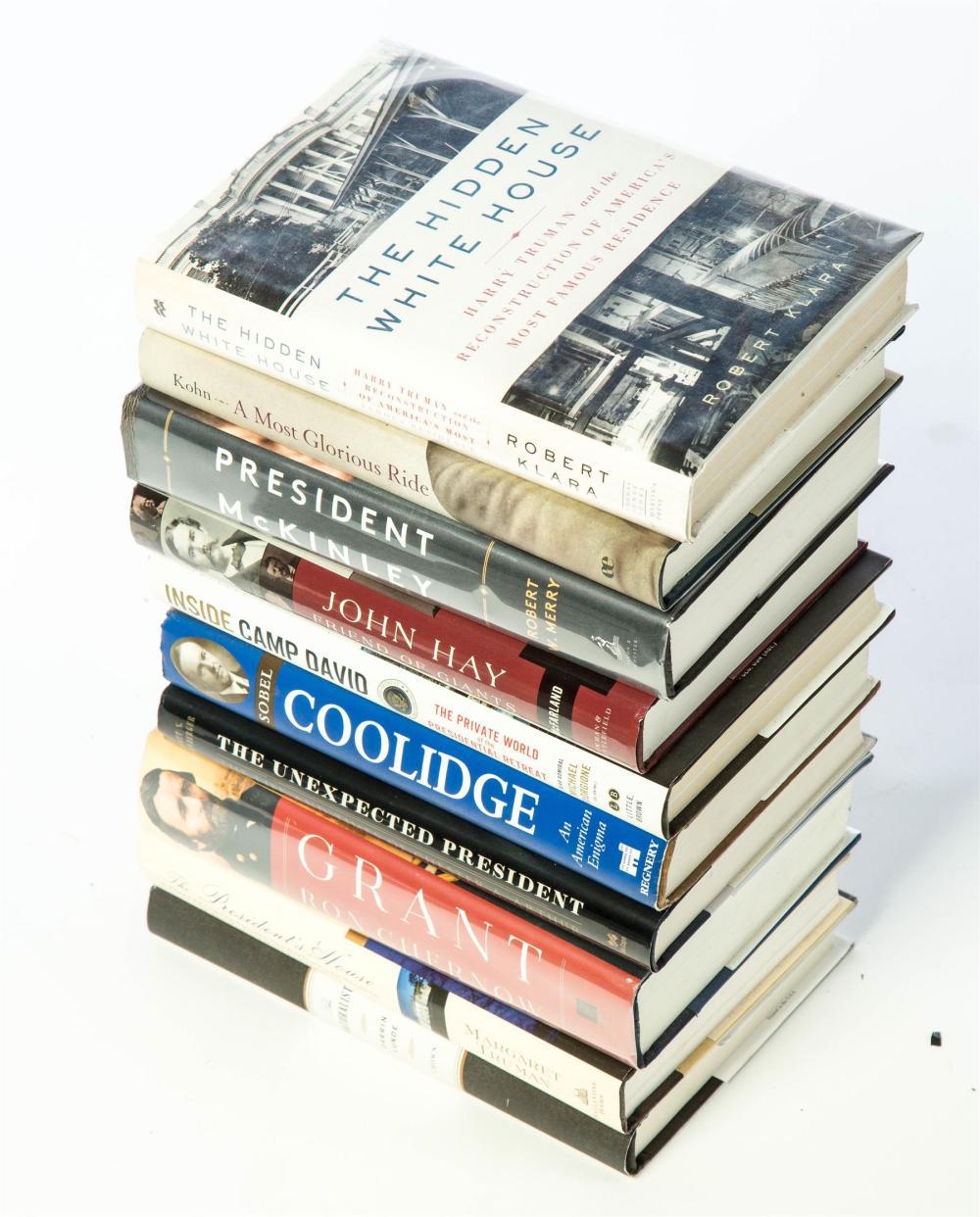 GROUP OF 10 PRESIDENT BOOKS.
