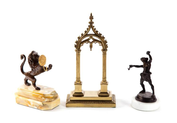 SMALL GROUP OF WATCH STANDS.