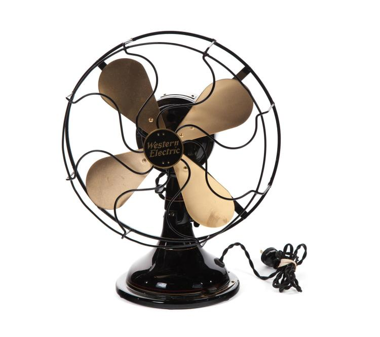 WESTERN ELECTRIC TABLETOP FAN.