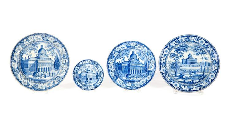 FOUR MEDIUM BLUE