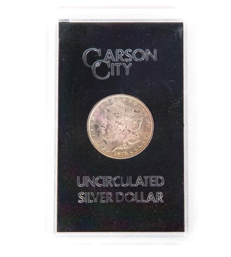 CARSON CITY MORGAN SILVER DOLLAR.