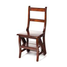 LIBRARY STEP CHAIR.