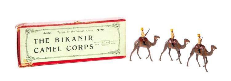 BIKANER CAMEL CORPS CAST TOYS.