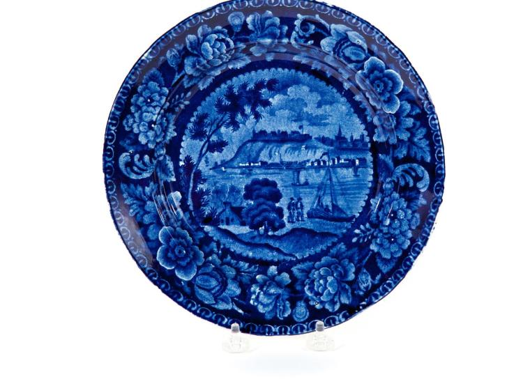HISTORICAL BLUE PLATE