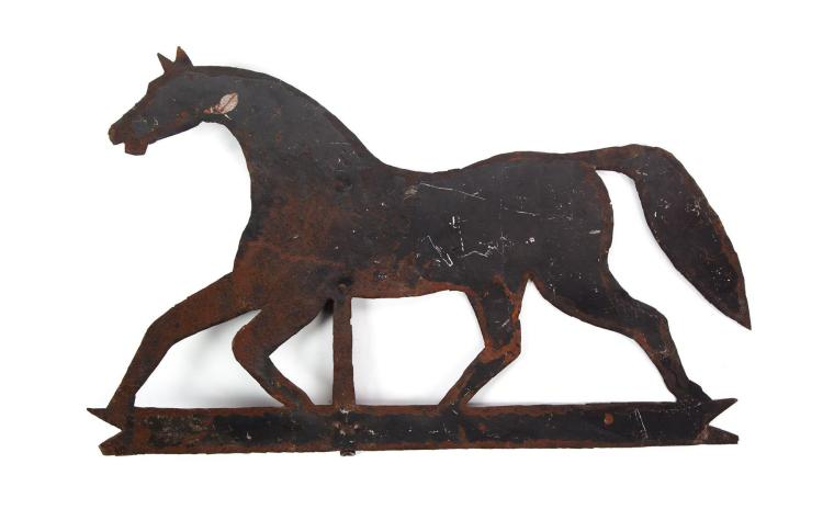 GALLOPING HORSE WEATHERVANE.