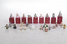 DEPARTMENT 56 CANDLE CROWN COLLECTION FIGURES.