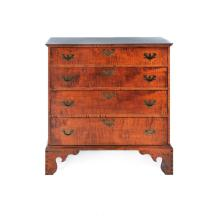 ELDRED WHEELER CHIPPENDALE-STYLE CHEST.