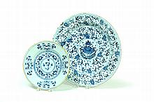DELFT PLATE AND CHARGER.