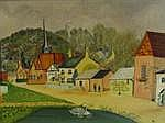 DEBORAH KERR: (1921-2007) An oil on canvas of a