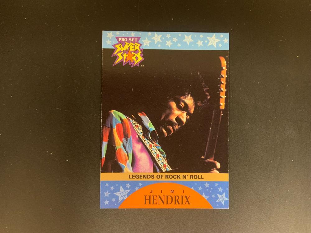 Pro Set Superstar Jimi Hendrix