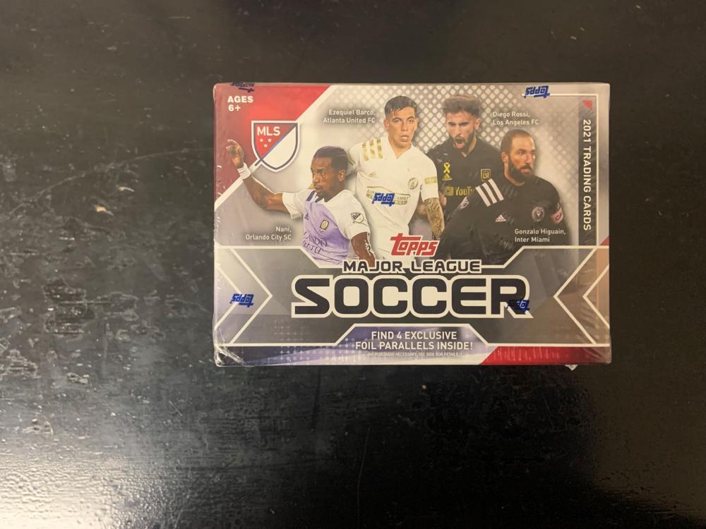 2021 Topps Soccer Blaster Box - Unopened